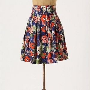 Anthropologie Parameter Apothecary floral skirt